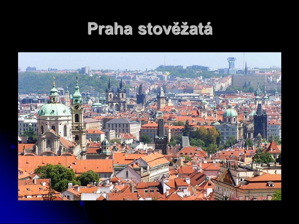 Přívlastky Prahy Praha srdce Evropy - Praha leží ve středu Evropy a vzdálenost k Baltskému moři činí přes 600 km, k Severnímu moři přes 700 km, stejně