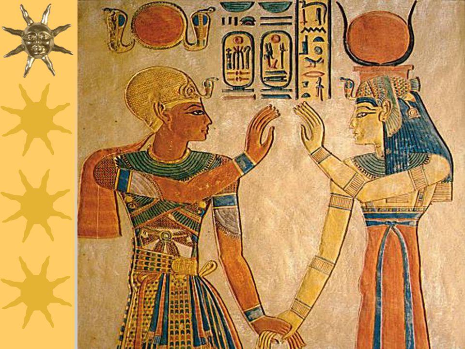 """Amon  """"skrytý""""  Bůh slunce, hlavní bůh Théb  V období Nové říše hlavním bohem Egypta, prohlášen za krále bohů a také nejuctívanější bůh mezi obyčej"""