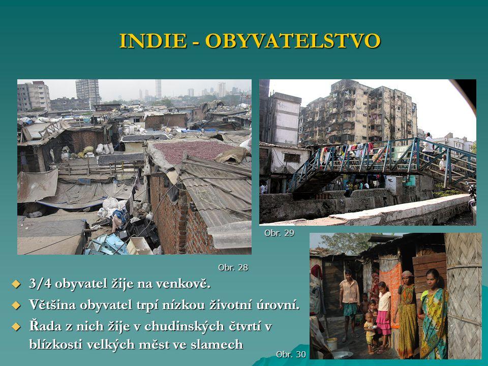  3/4 obyvatel žije na venkově.  Většina obyvatel trpí nízkou životní úrovní.  Řada z nich žije v chudinských čtvrtí v blízkosti velkých měst ve sla