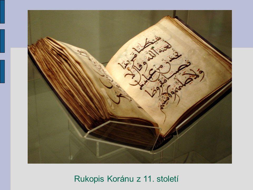 Rukopis Koránu z 11. století
