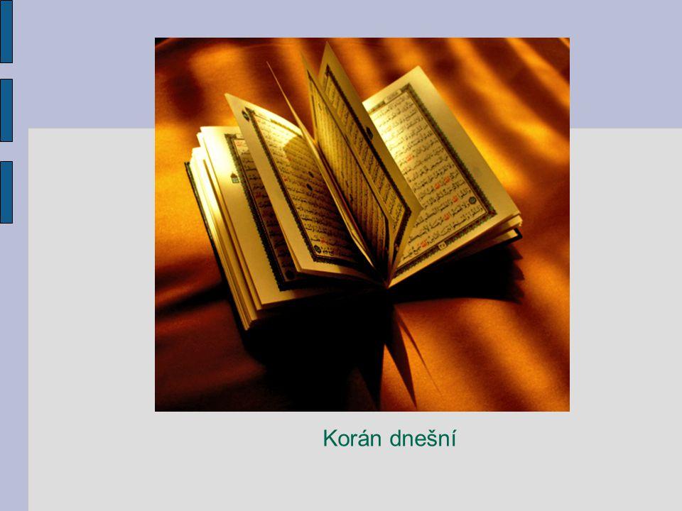 Korán dnešní