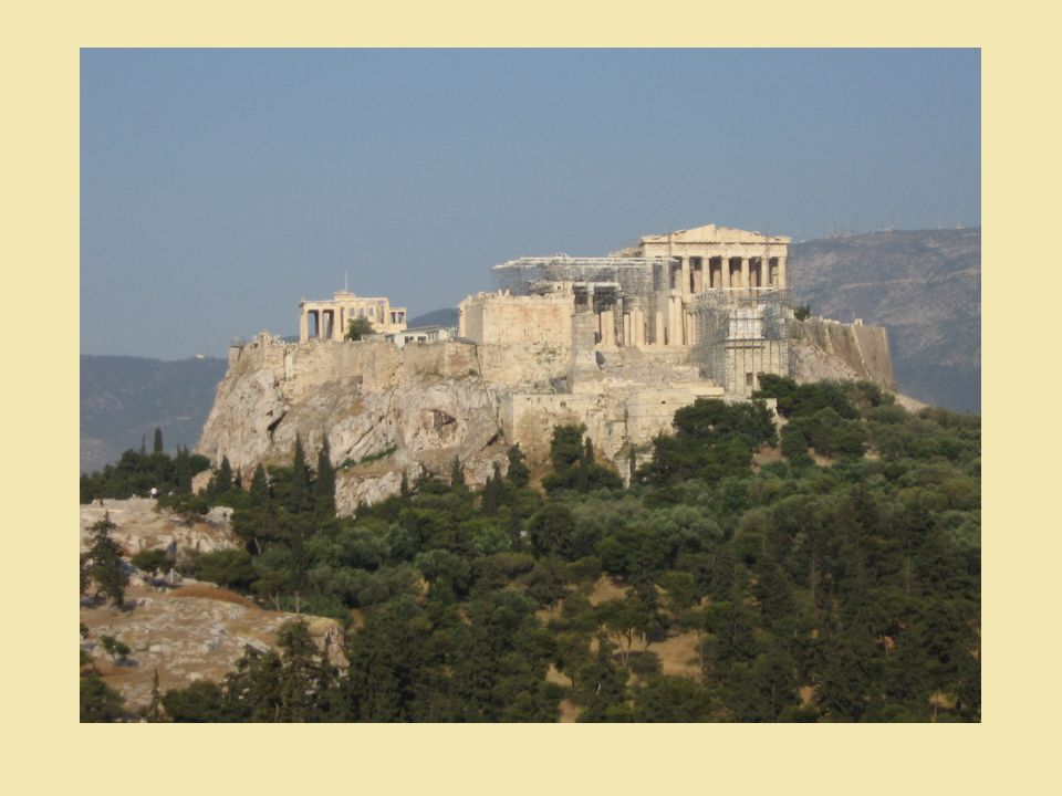 Vzdělání a umění - v Athénách stejně důležité jako vojenská služba