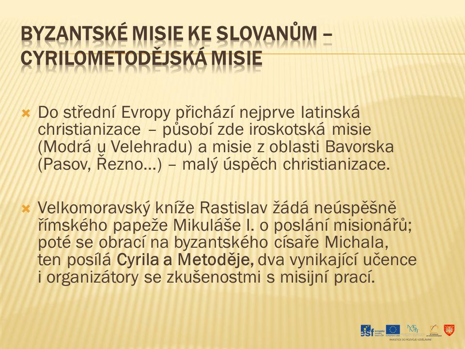 Vytvořili písmo (hlaholice), jež odpovídalo potřebám slovanského jazyka.