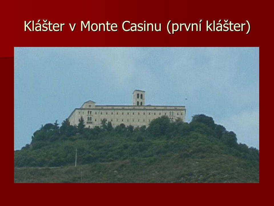 Klášter v Monte Casinu (první klášter)