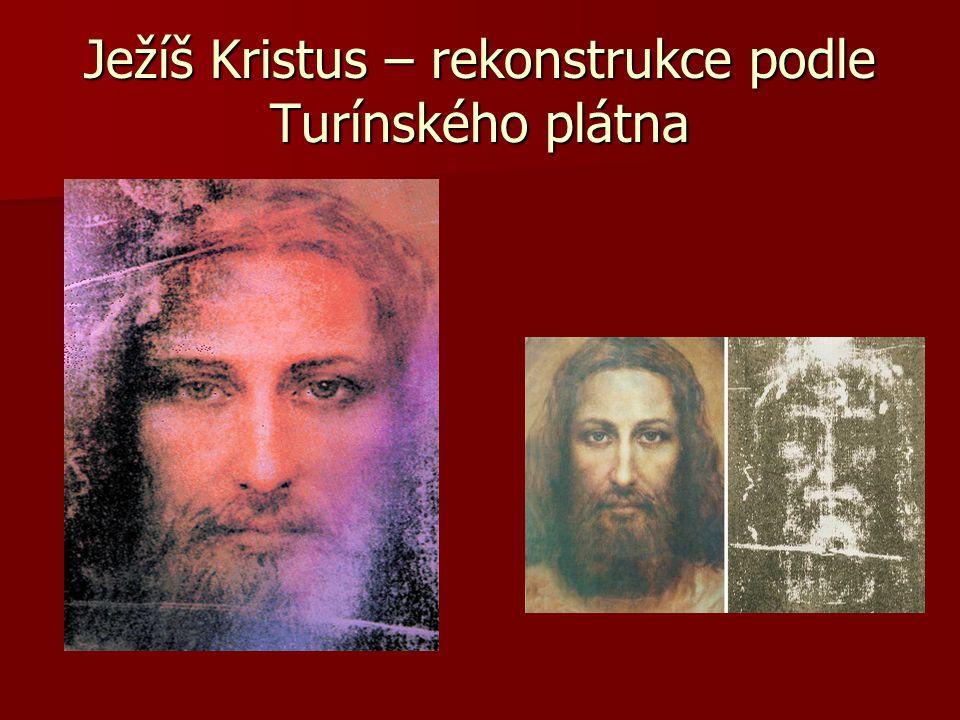 Ježíš Kristus – rekonstrukce podle Turínského plátna