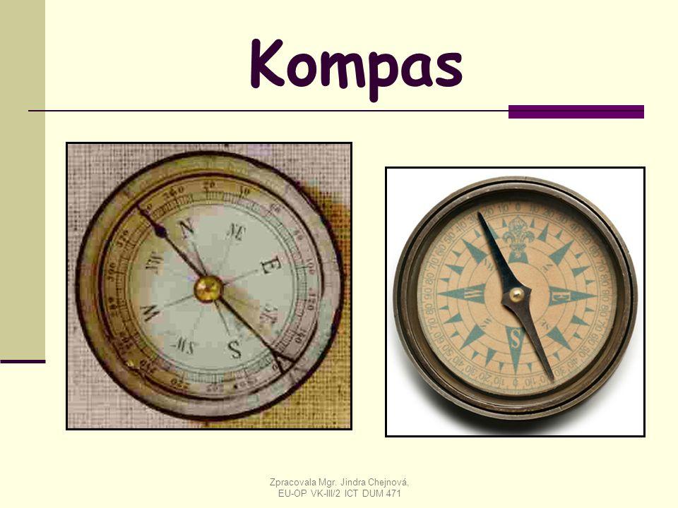 Kompas Zpracovala Mgr. Jindra Chejnová, EU-OP VK-III/2 ICT DUM 471