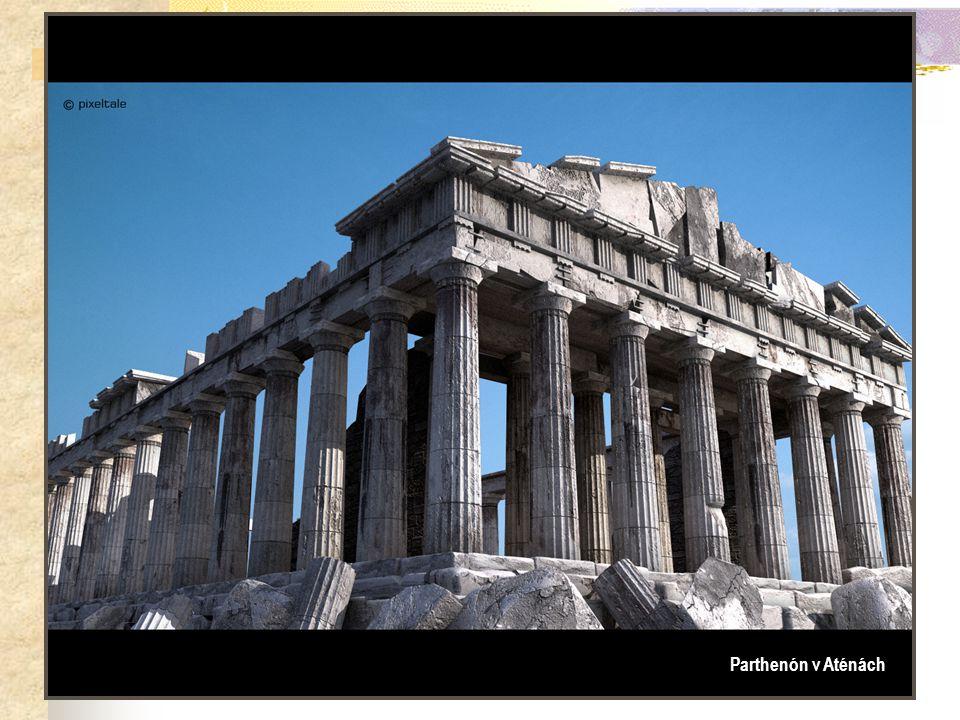 Parthenón v Aténách