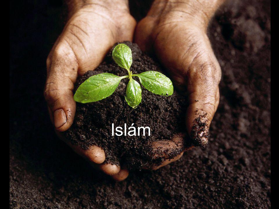 Modlitba prohlášená pětkrát za den.Věřící všech národností se modlí směrem k Mekce.
