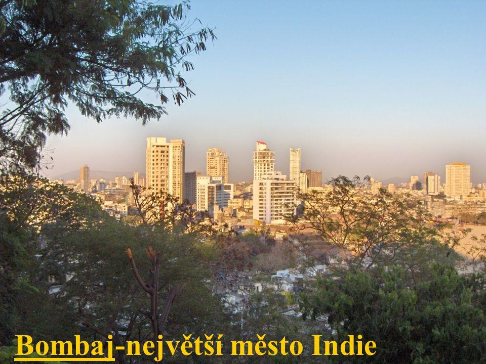 Bombaj-největší město Indie