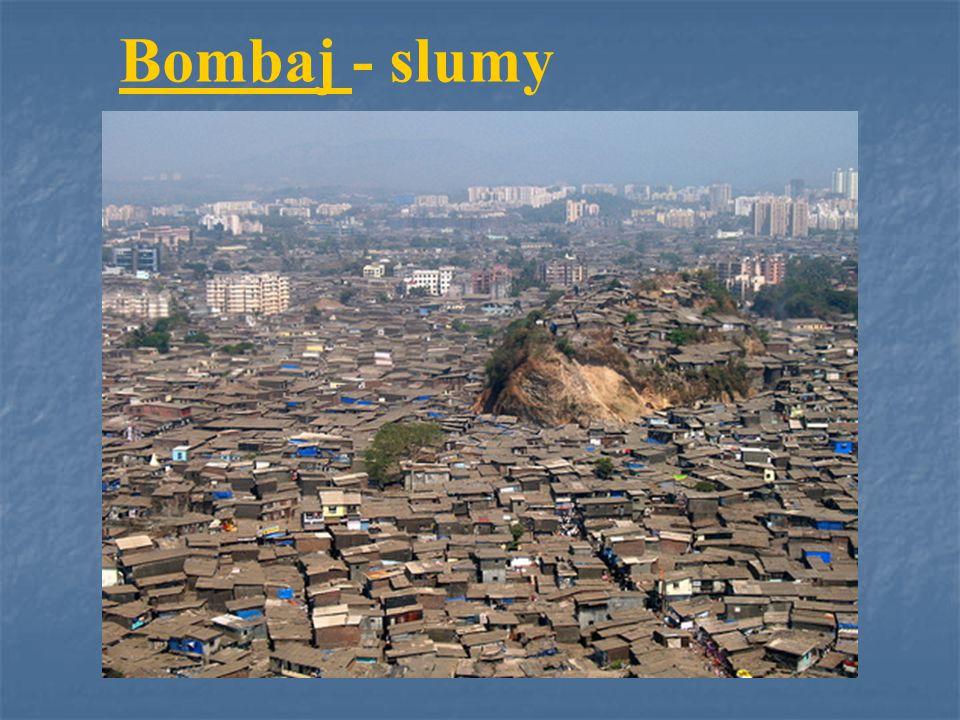Bombaj - slumy