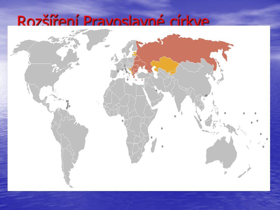 Rozšíření Pravoslavné církve