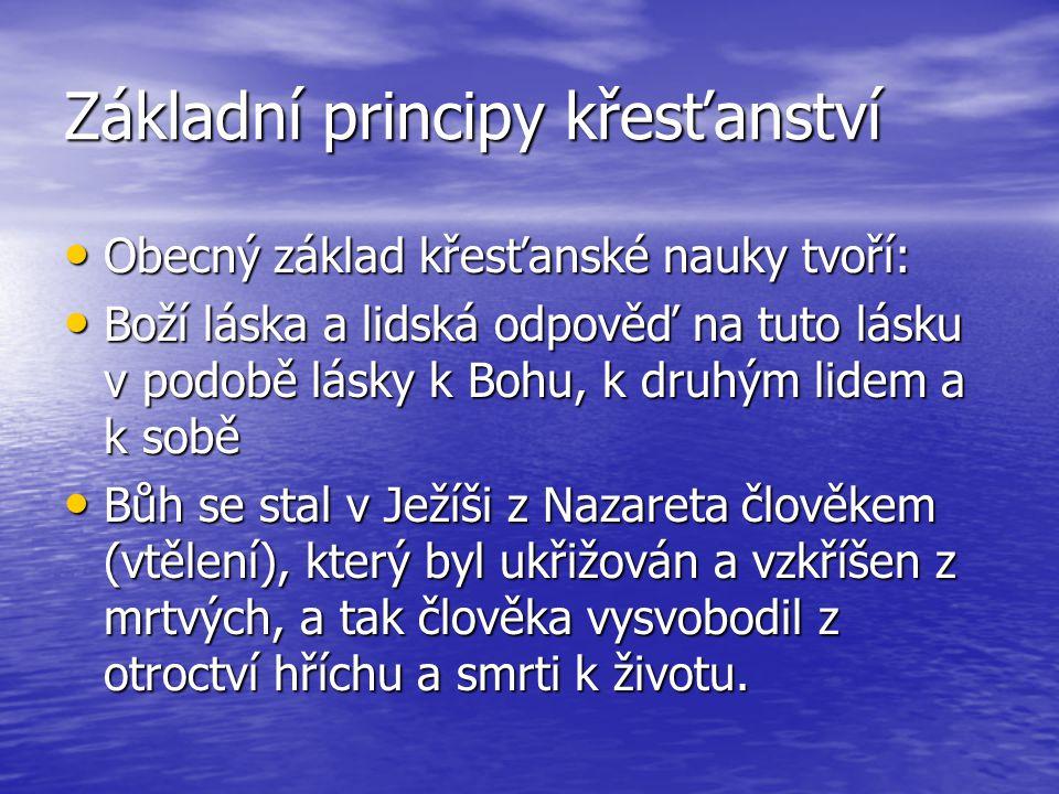 - šíření křesťanských obcí začíná v 1.st n. l.