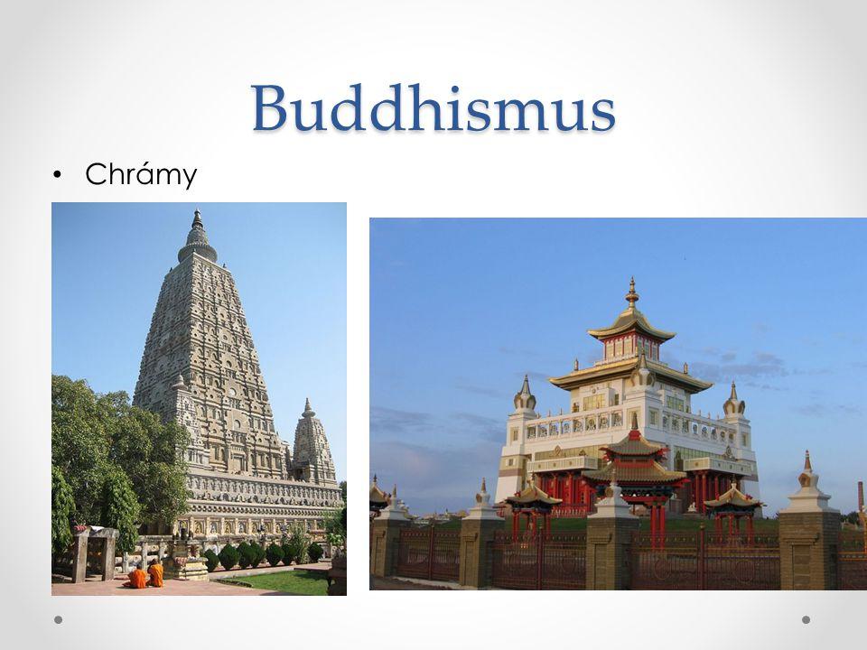 Buddhismus Chrámy