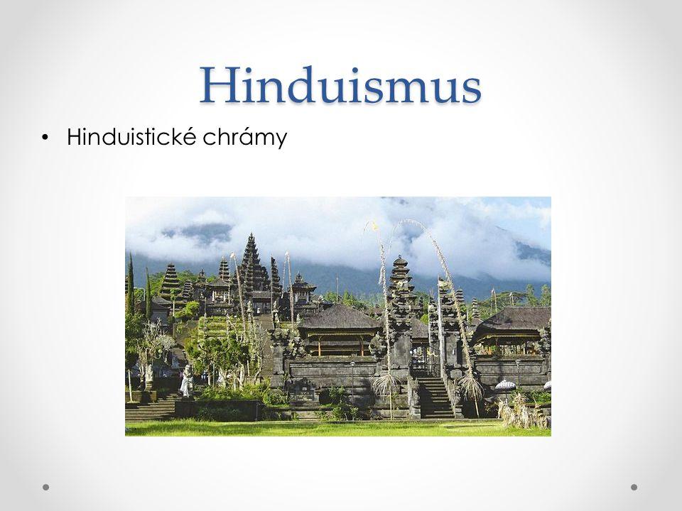 Hinduismus Hinduistické chrámy