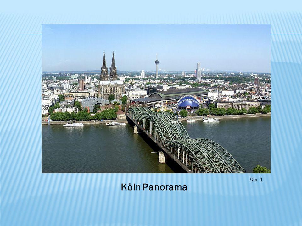 Obr. 1 Köln Panorama