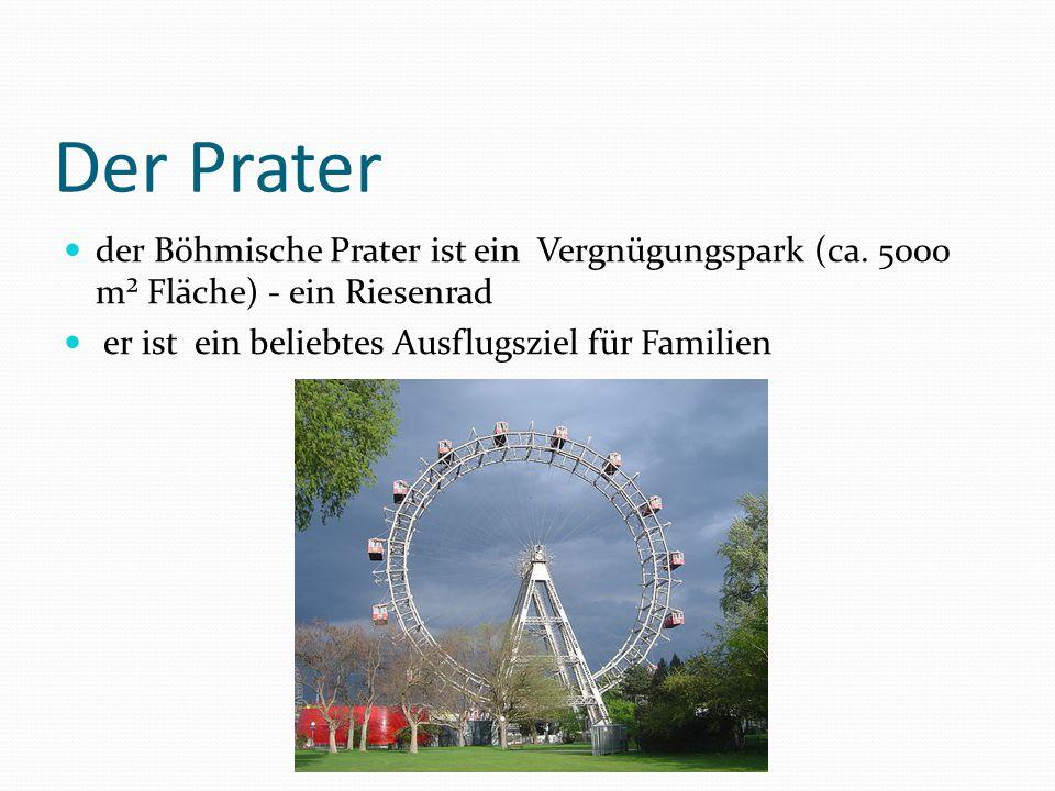 Der Prater der Böhmische Prater ist ein Vergnügungspark (ca.