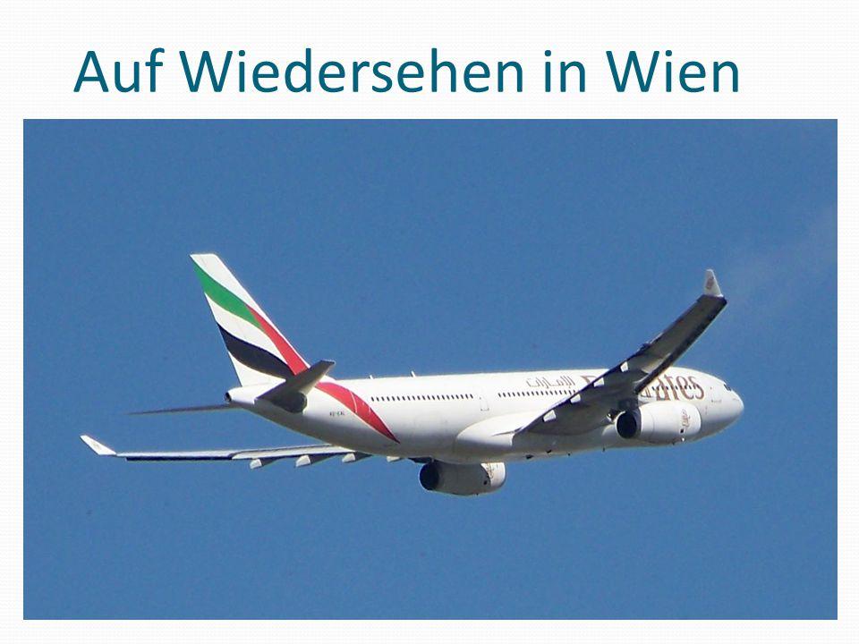 Auf Wiedersehen in Wien