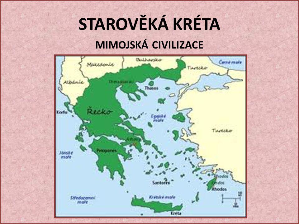 Král Minos – podle něho se nazývá minojská civilizace KRÁL Minos pozval do země dva řecké učence DAIDALA A IKARA.