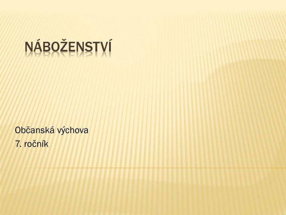 Občanská výchova 7. ročník