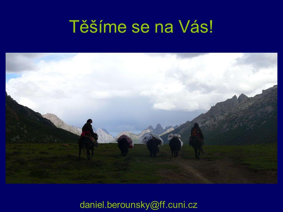 Těšíme se na Vás! daniel.berounsky@ff.cuni.cz