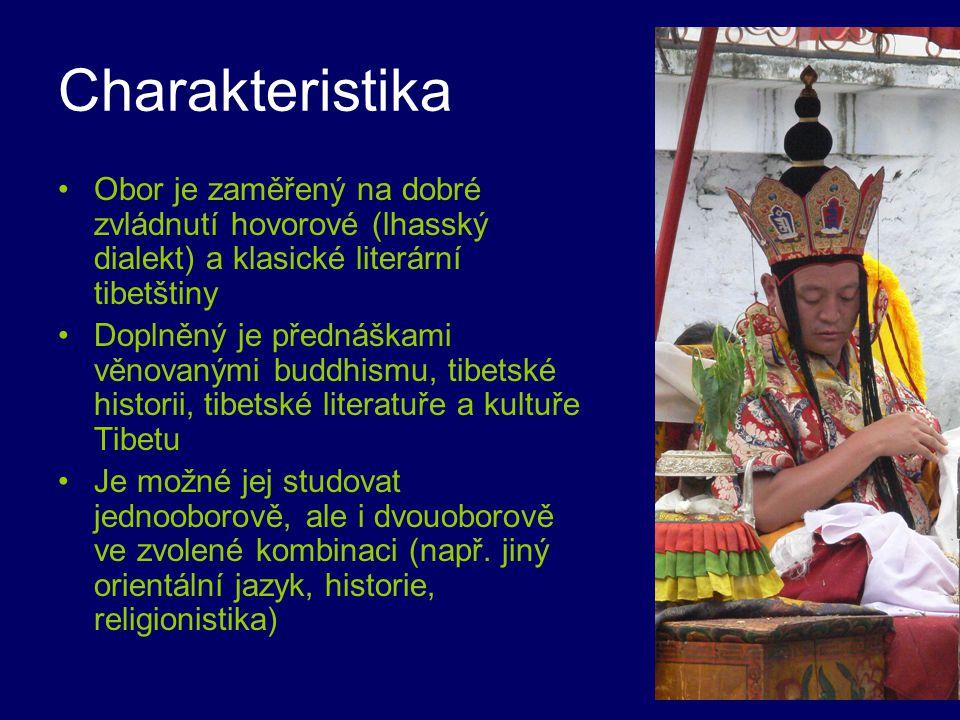 Charakteristika Obor je zaměřený na dobré zvládnutí hovorové (lhasský dialekt) a klasické literární tibetštiny Doplněný je přednáškami věnovanými budd