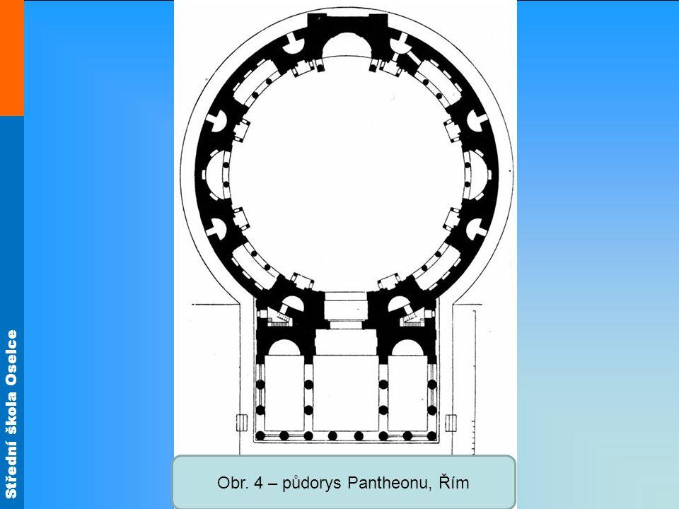 Střední škola Oselce Obr. 5 – trosky Maxentiovy baziliky, Forum Romanum, Řím