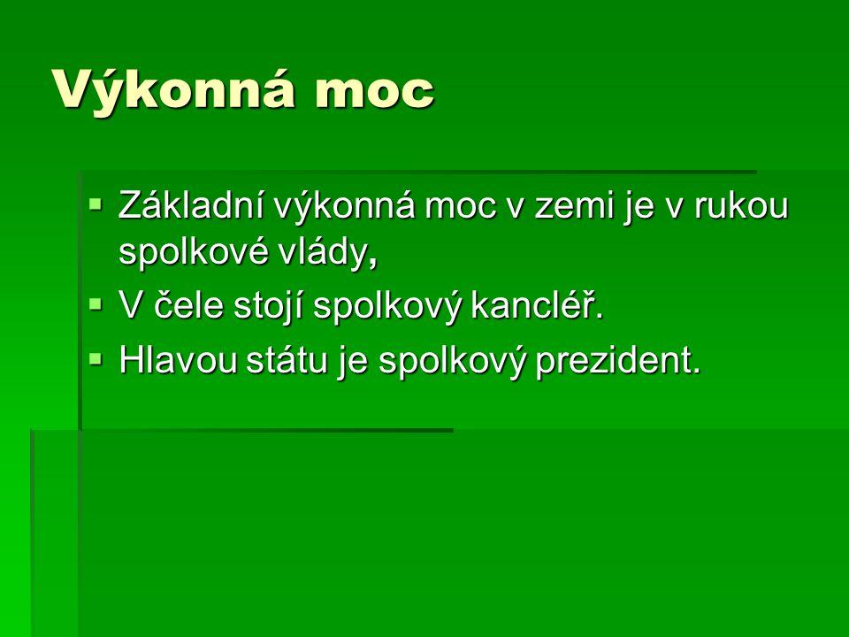 Spolkový prezident  Spolkový prezident na období 5 let, pouze 2 funkční období  zvláštní kolegium volitelů, tzv.