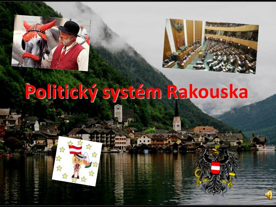 Obsah 1.Základní informace 2.Politický systém 3.Rakouská ústava 4.Zákonodárná moc Spolkové shromáždění (Bundesversammlung) 4.1.
