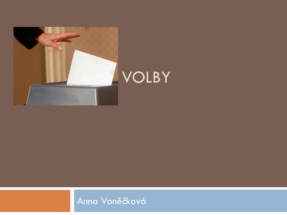 VOLBY Anna Vaněčková