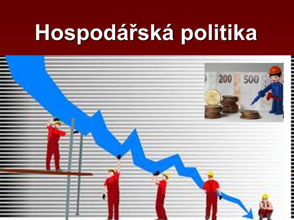 BANKA 5 % 10 % Úroková sazba Daně Vláda vynakládá z rozpočtu peníze na nákup potřebných statků od firem… … firmy za tyto peníze od domácností nakupují práci a další výrobní faktory.