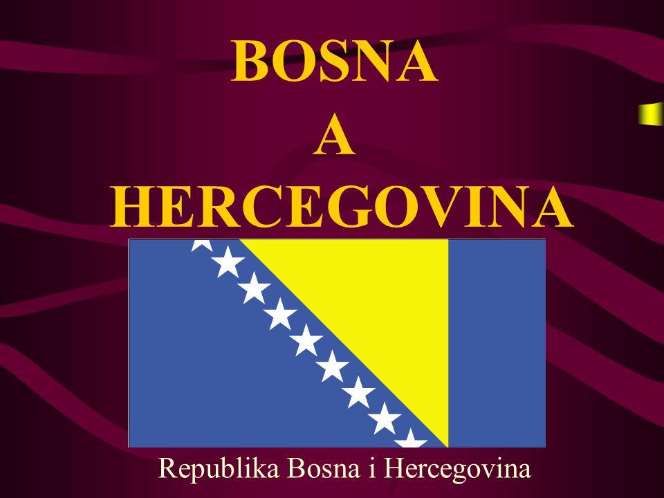 Poloha B osna a Hercegovina leží na jihovýchodě Evropy, v západní části Balkánu - centrální část bývalé Jugoslávie mezi řekami Drinou a Sávou V elmi omezený přístup k Jaderskému moři ( 24,5 km ) H raničí s: Srbskem Chorvatskem Černou horou