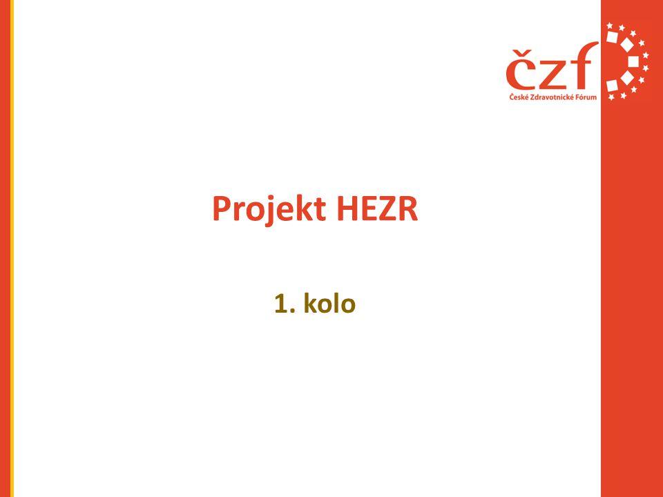 Projekt HEZR 1. kolo