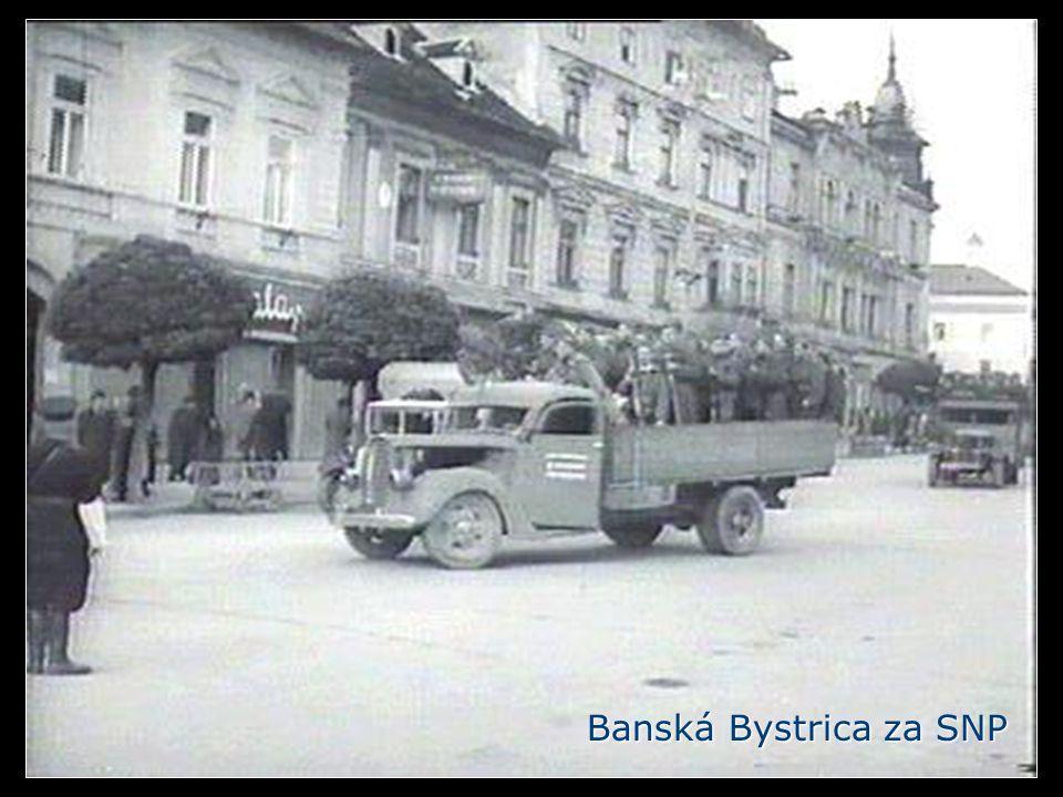 Banská Bystrica za SNP