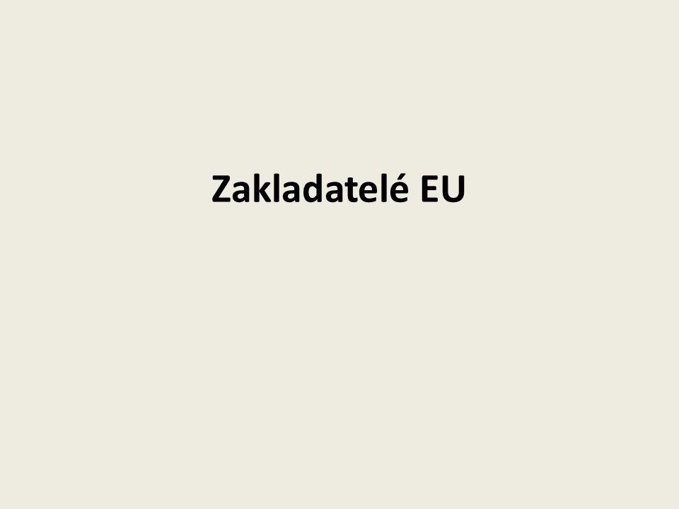 Zakladatelé EU