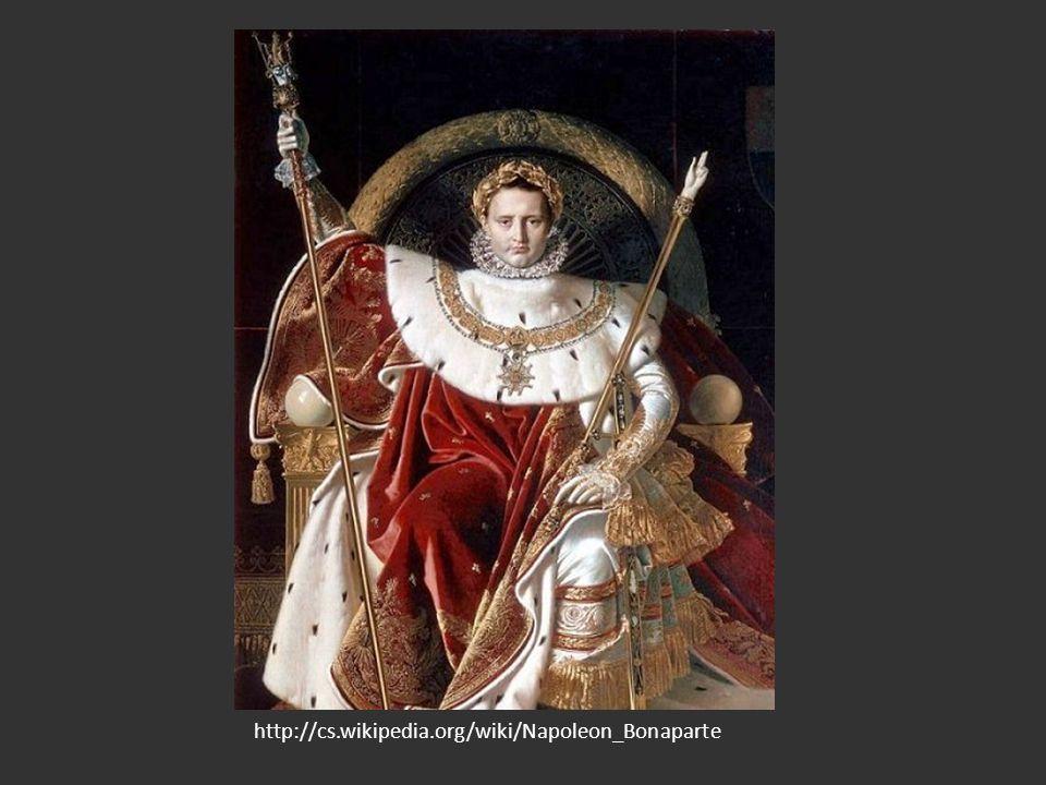Císařství Počátky a první porážka války proti Rakousku, Prusku, Rusku a VB 1805 porazil britský admirál Nelson francouzské loďstvo u mysu Trafalgar na pevnině vítězí Napoleon: tažení na východ: obsadil Vídeň, pokračoval na Moravu 1805 u moravského Slavkova (Austerlitz) – bitva tří císařů (Napoleon, František II.