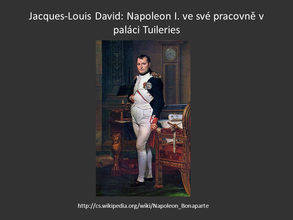 Jacques-Louis David: Napoleon I.