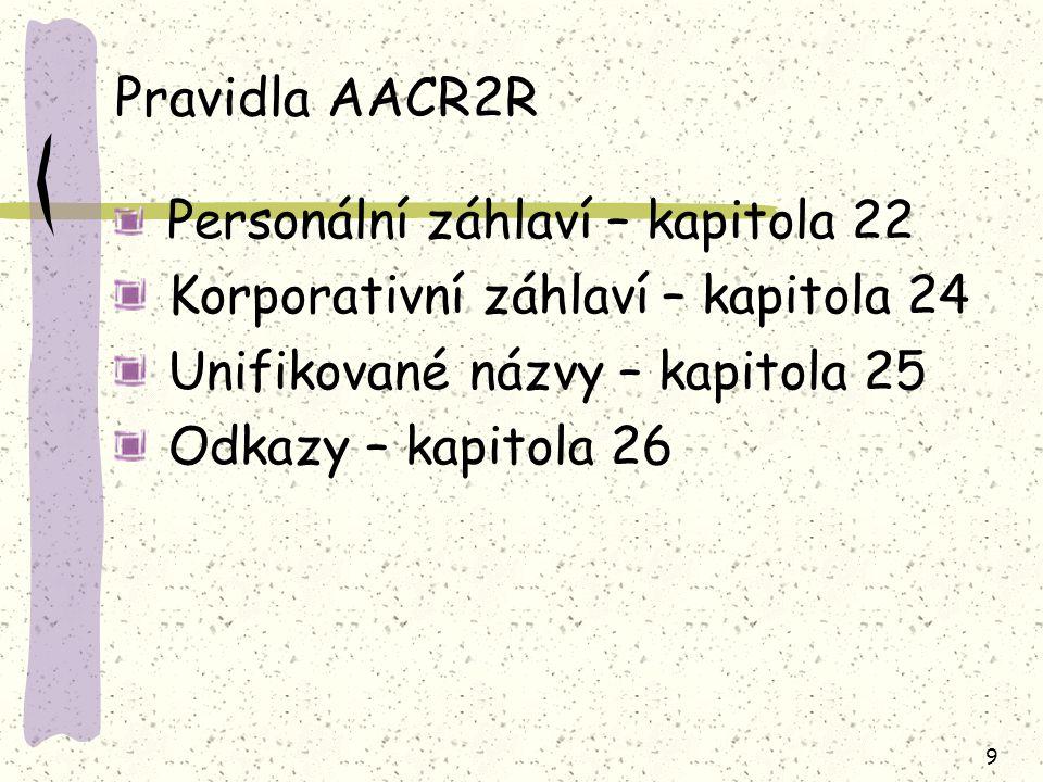 40 22.18A Volba mezi různými formami téhož jména rozpis iniciál rodného/křestního jména nebo úplnější forma jména James, P.