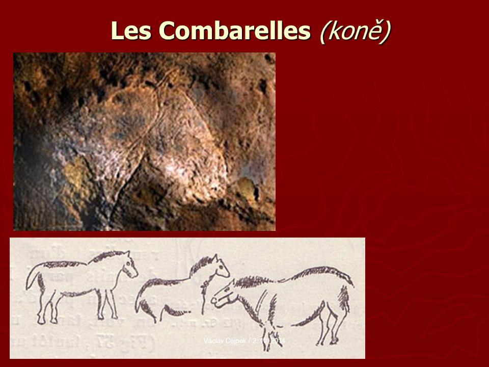 Les Combarelles (koně) Václav Cejpek / 2. 10. 2014