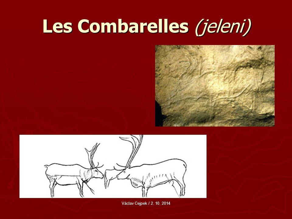 Les Combarelles (jeleni) Václav Cejpek / 2. 10. 2014