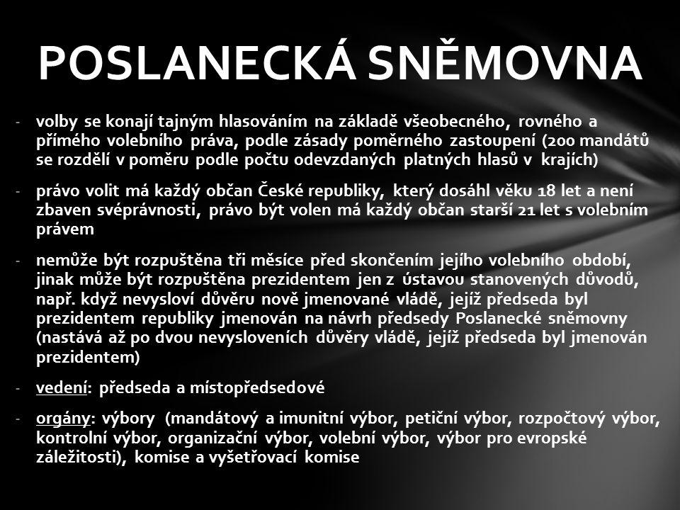 PŘEDSEDOVÉ PS Milan Uhde 1993 – 1996 Miloš Zeman 1996 – 1998 Václav Klaus 1998 – 2002 Lubomír Zaorálek 2002 – 2006 Miloslav Vlček 2006 – 2010 Miroslava Němcová 2010 – 2013 Jan Hamáček – od r.