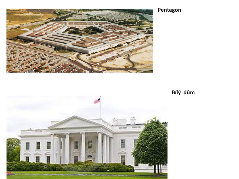 Pentagon Bílý dům
