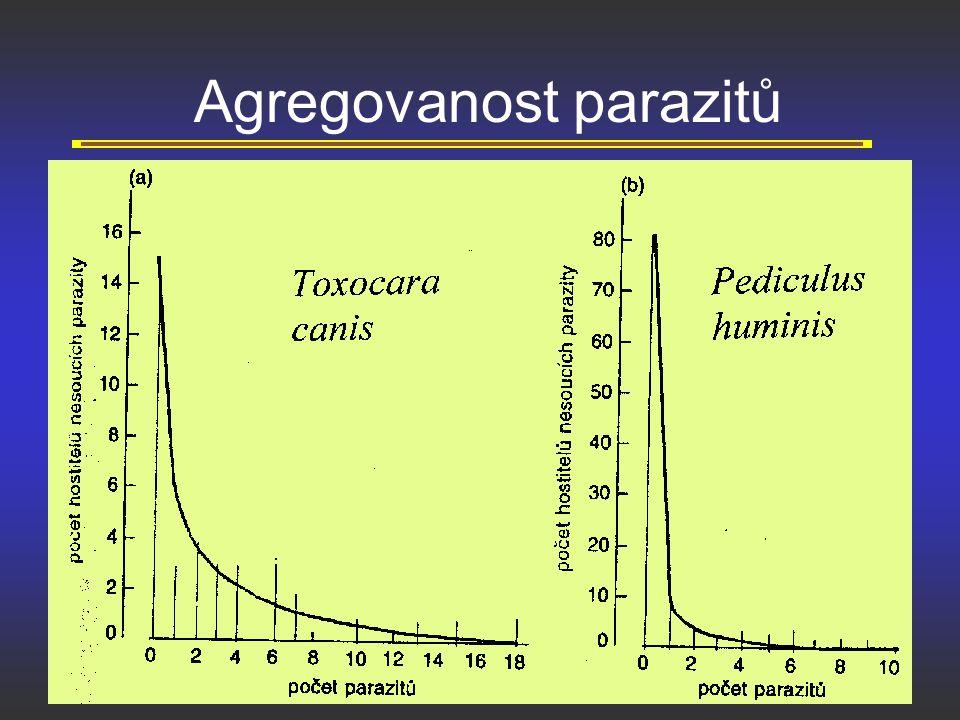 Agregovanost parazitů