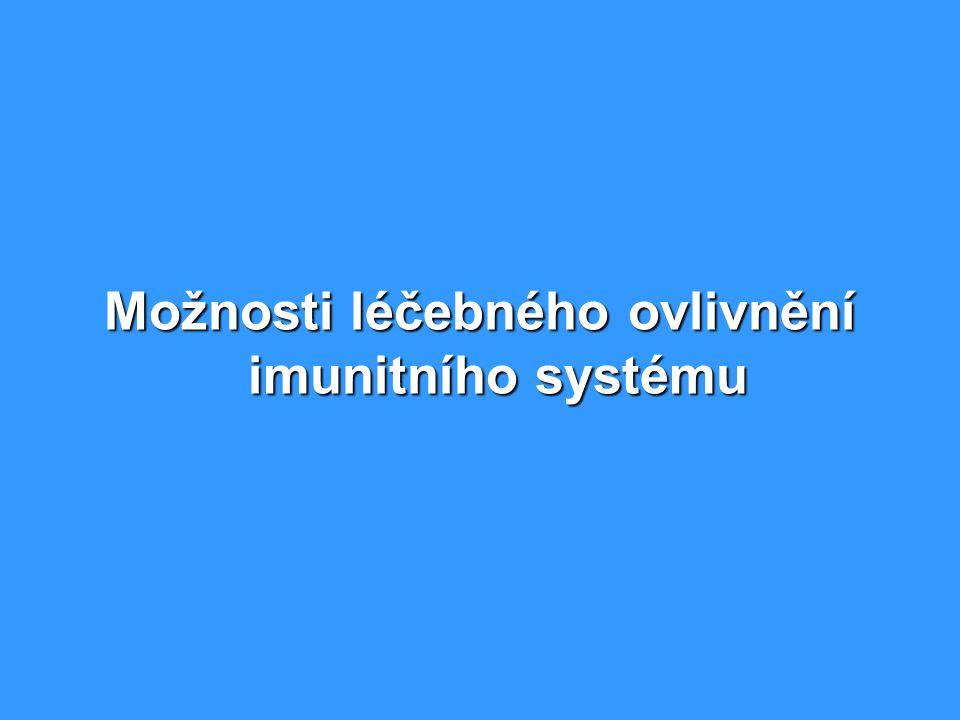 Možnosti léčebného ovlivnění imunitního systému