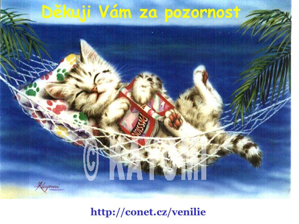 Děkuji Vám za pozornost http://conet.cz/venilie