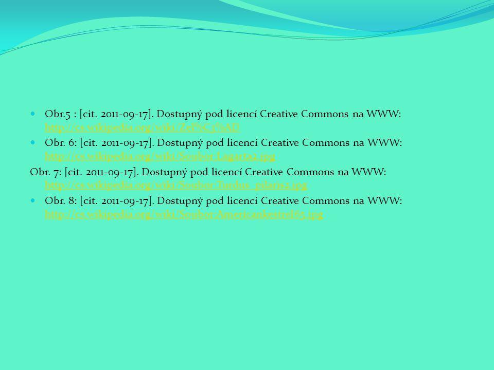 Obr.5 : [cit. 2011-09-17]. Dostupný pod licencí Creative Commons na WWW: http://cs.wikipedia.org/wiki/Zel%C3%AD http://cs.wikipedia.org/wiki/Zel%C3%AD