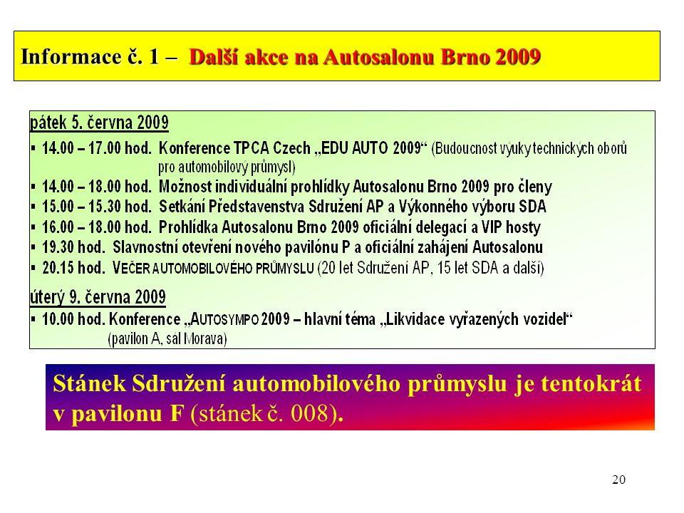 20 Informace č.