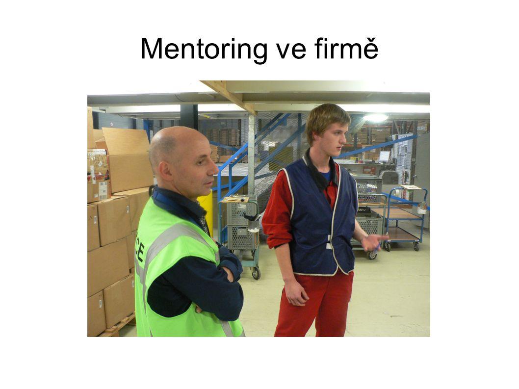 Mentoring ve firmě