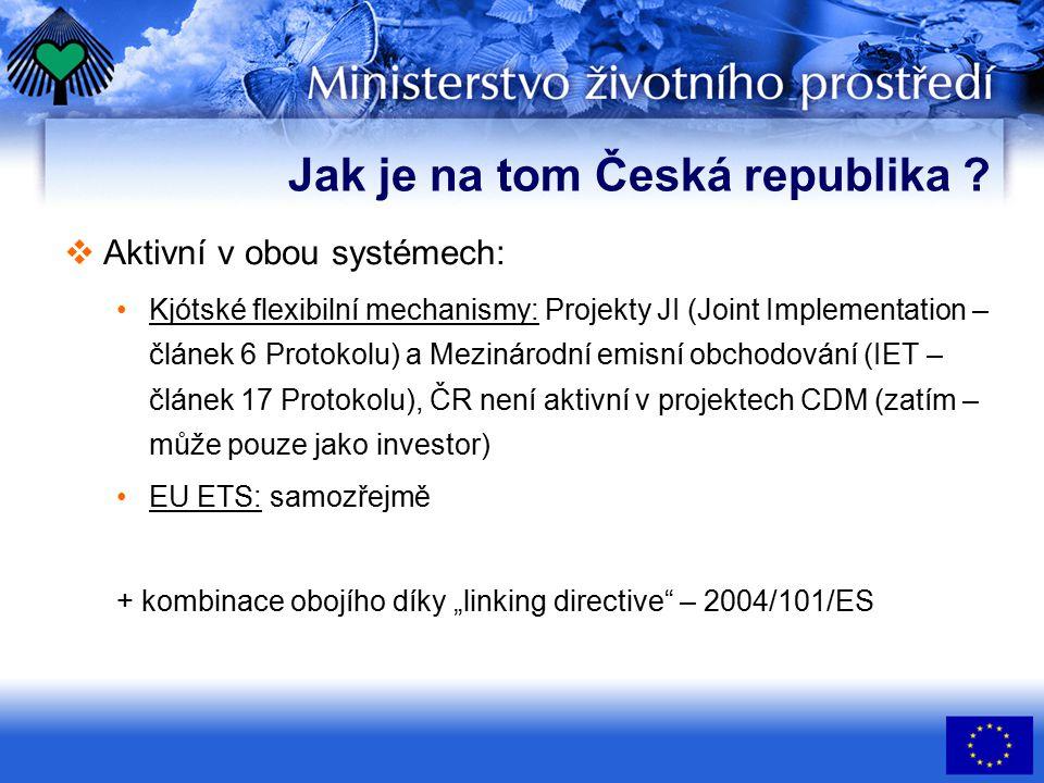 Jak je na tom Česká republika .