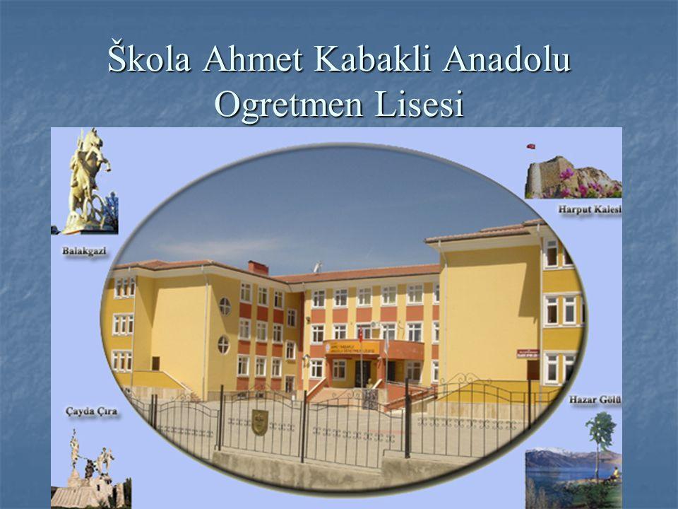 Škola Ahmet Kabakli Anadolu Ogretmen Lisesi
