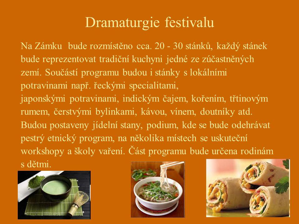 Dramaturgie festivalu Na Zámku bude rozmístěno cca.